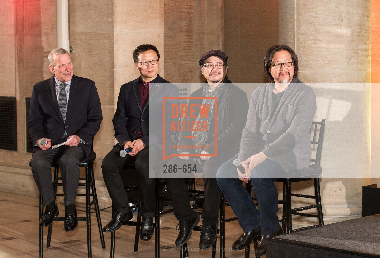 David Gockley, Bright Sheng, Tim Yip, Stan Lai, San Francisco Opera Celebrates