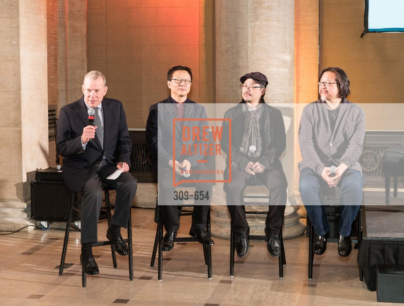 David Gockley, Bright Sheng, Tim Yip, Stan Lai, San Francisco Opera Celebrates