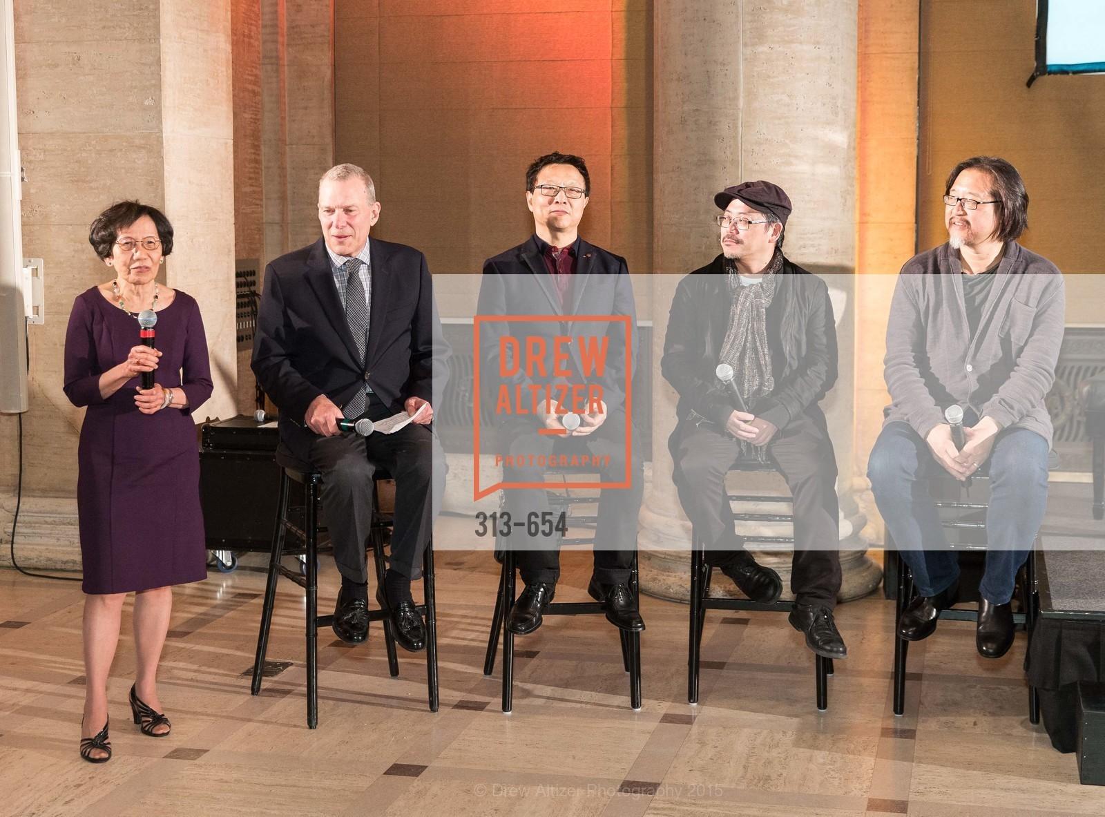 Pearl Bergad, David Gockley, Bright Sheng, Tim Yip, Stan Lai, San Francisco Opera Celebrates