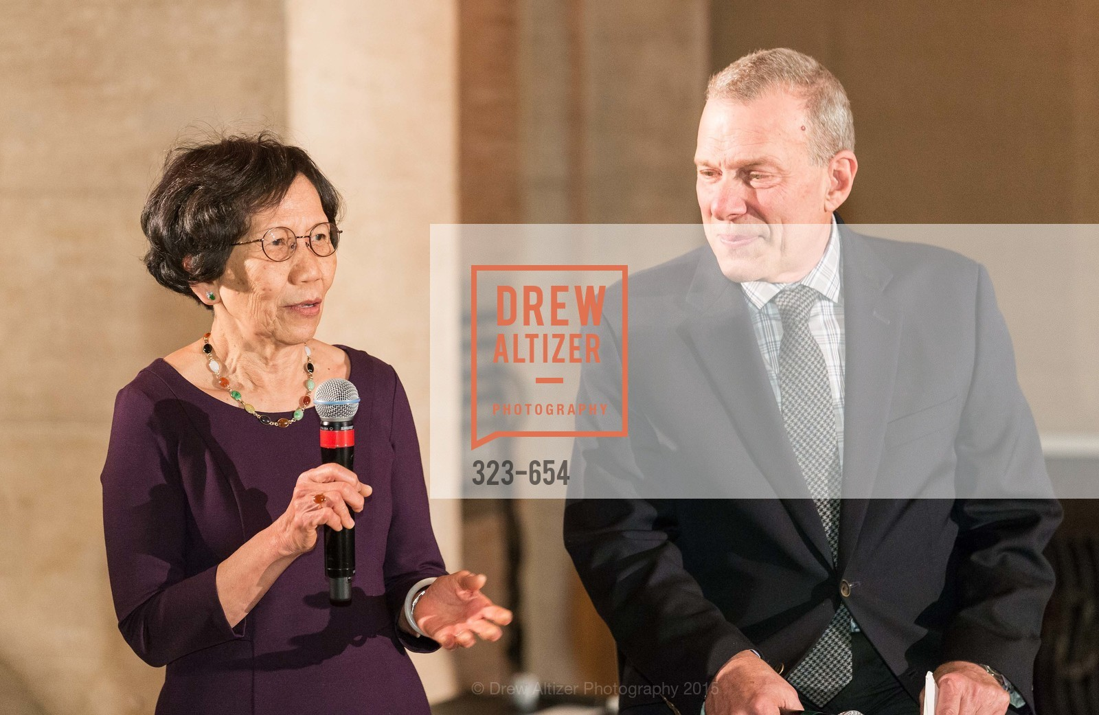 Pearl Bergad, David Gockley, San Francisco Opera Celebrates