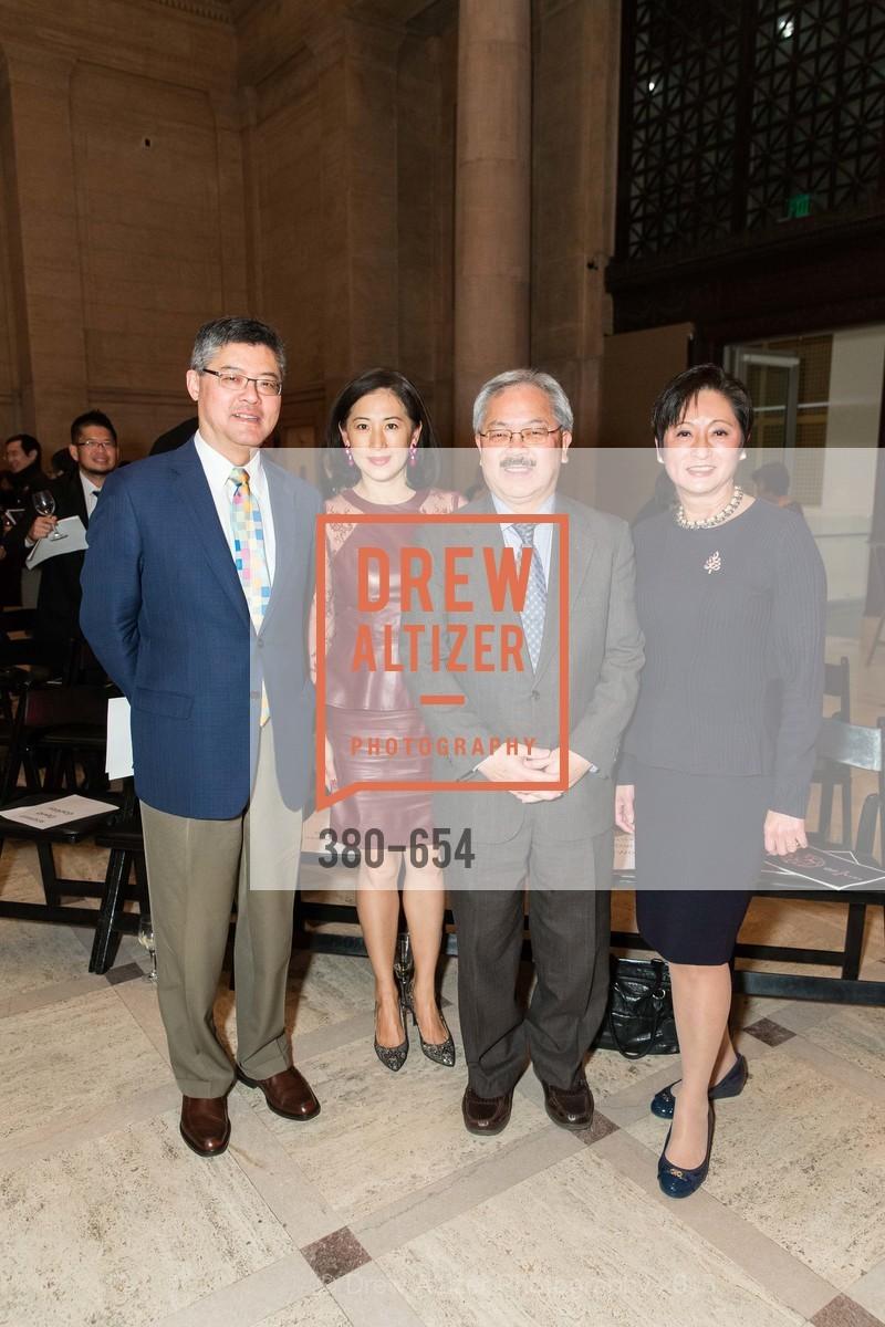 Jay Xu, Gorretti Lo Lui, Ed Lee, Doreen Woo Ho, San Francisco Opera Celebrates