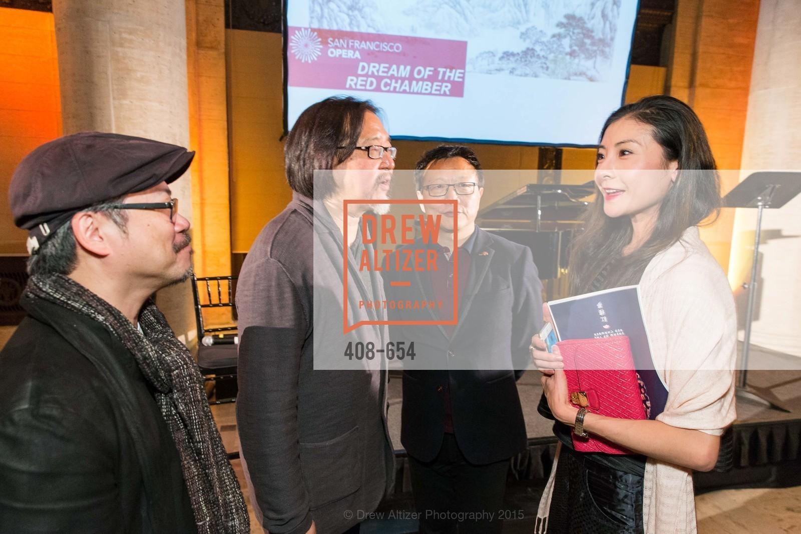 Tim Yip, Stan Lai, Bright Sheng, Yuan Yuan Tan, San Francisco Opera Celebrates