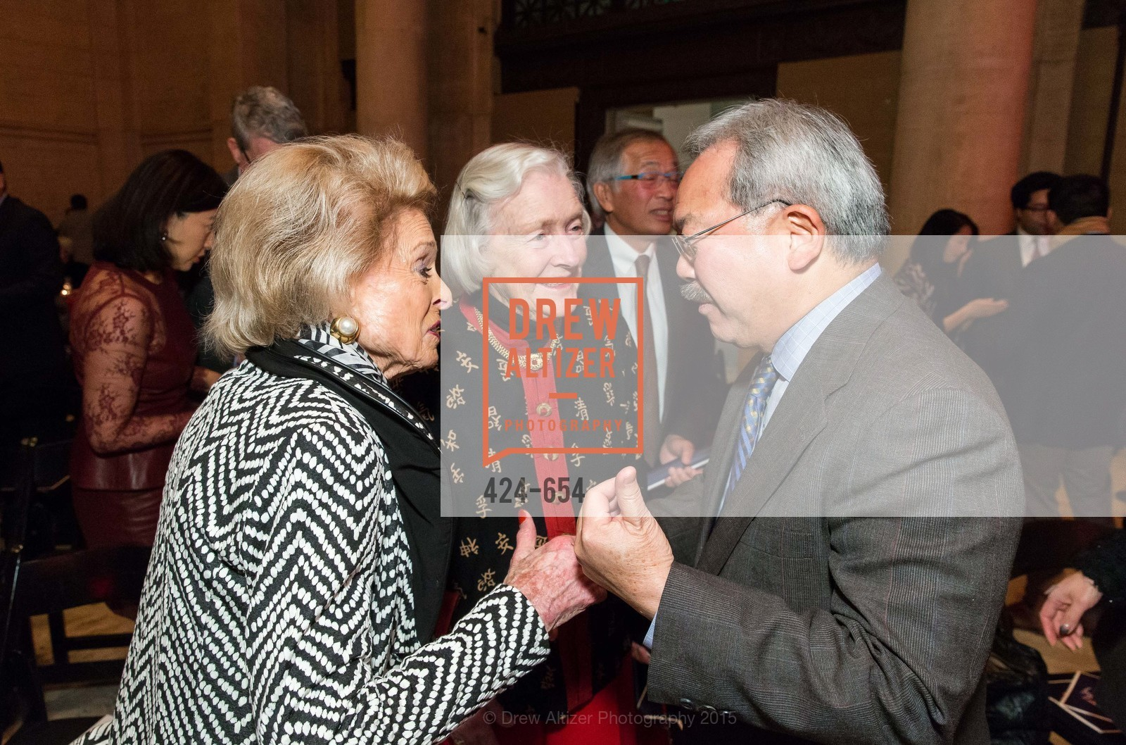 Harriet Quarre, Marianne Peterson, Ed Lee, San Francisco Opera Celebrates
