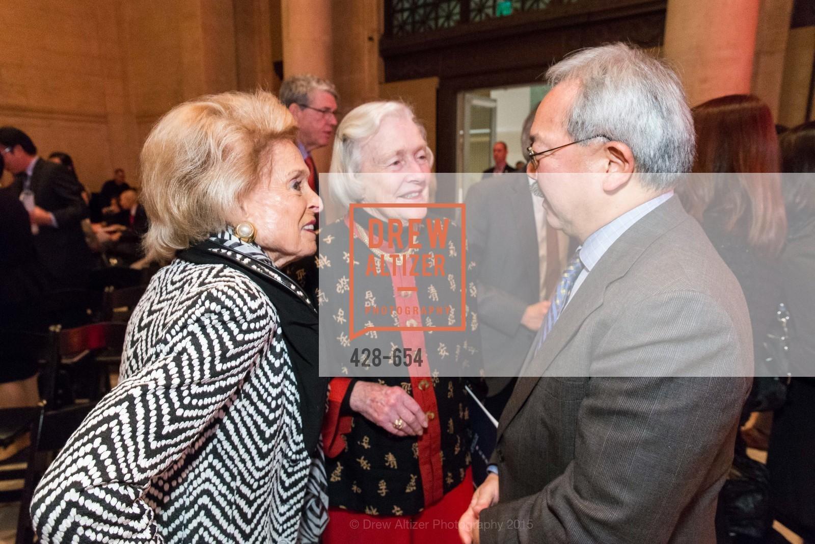 Harriet Quarre, Marianne Peterson, Ed Lee, San Francisco Opera Celebrates