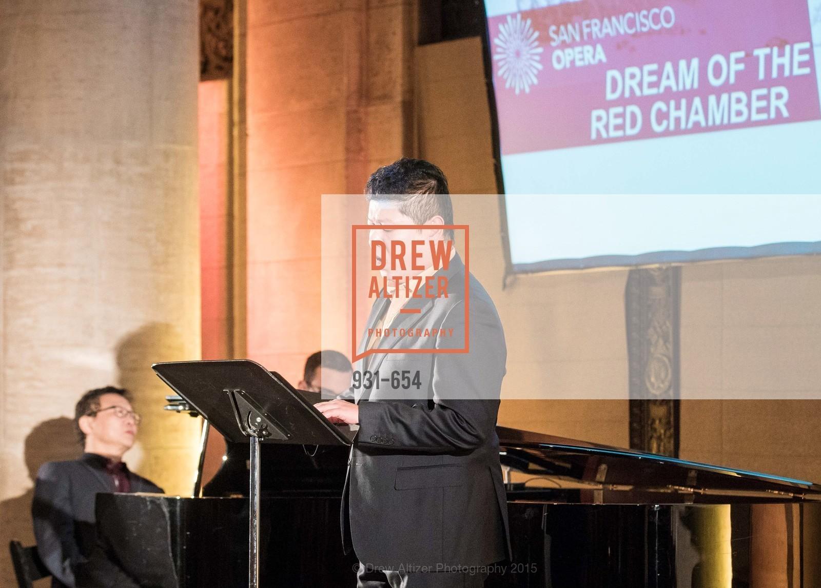Chong Wang, San Francisco Opera Celebrates