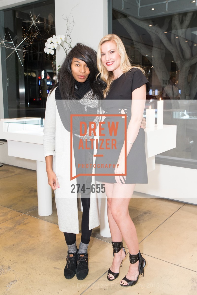 Nkechi Njaka, Cara Cutter, Silver Belles Soirée at Stuart Moore, Stuart Moore Gallery of Designer Jewelry. 1898 Union Street, December 17th, 2015,Drew Altizer, Drew Altizer Photography, full-service agency, private events, San Francisco photographer, photographer california