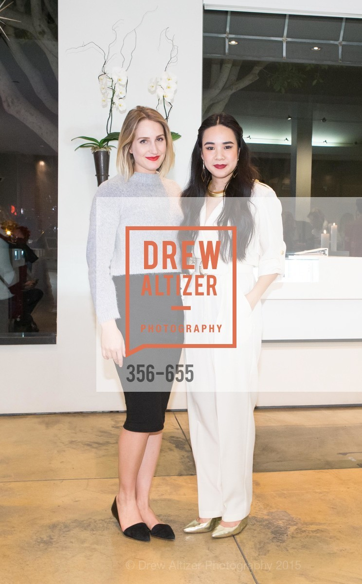 Nichole Powell, Khuyen Do, Silver Belles Soirée at Stuart Moore, Stuart Moore Gallery of Designer Jewelry. 1898 Union Street, December 17th, 2015,Drew Altizer, Drew Altizer Photography, full-service agency, private events, San Francisco photographer, photographer california