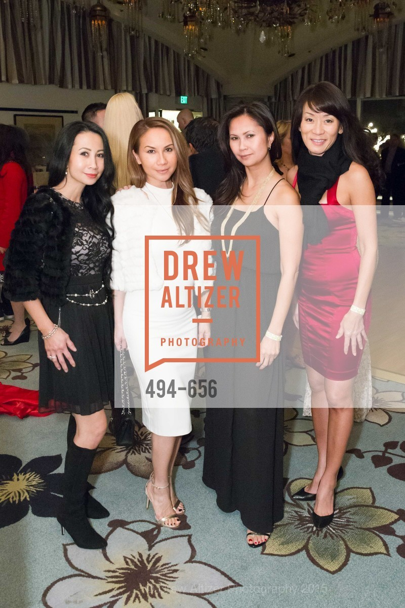 Ann McQueen, Kelly van Tran, Janine Phan, Vivian Shaw, Joyful Holiday Toy Drive and Rumiko Birthday Bash, Fairmont, Pavilion Room, December 16th, 2015,Drew Altizer, Drew Altizer Photography, full-service agency, private events, San Francisco photographer, photographer california