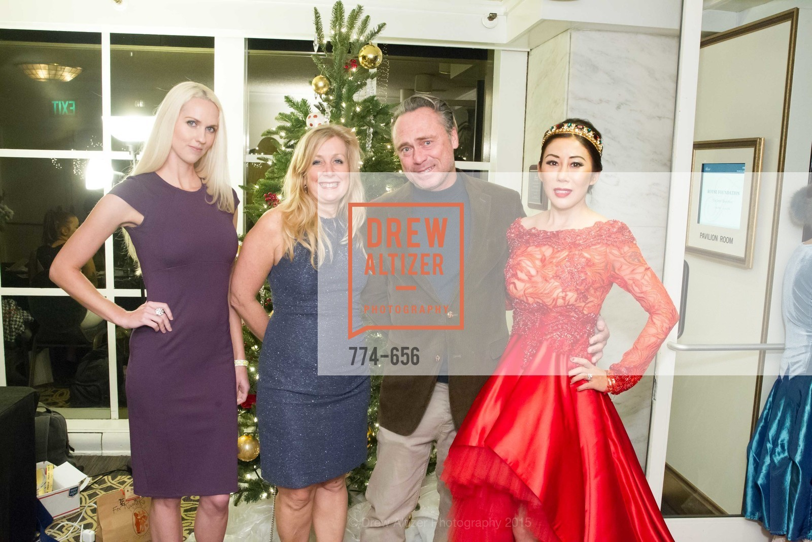 Brittany Reynolds, Carol Jupiter, Michael Merrins, Rumiko McCarthy, Joyful Holiday Toy Drive and Rumiko Birthday Bash, Fairmont, Pavilion Room, December 16th, 2015,Drew Altizer, Drew Altizer Photography, full-service agency, private events, San Francisco photographer, photographer california