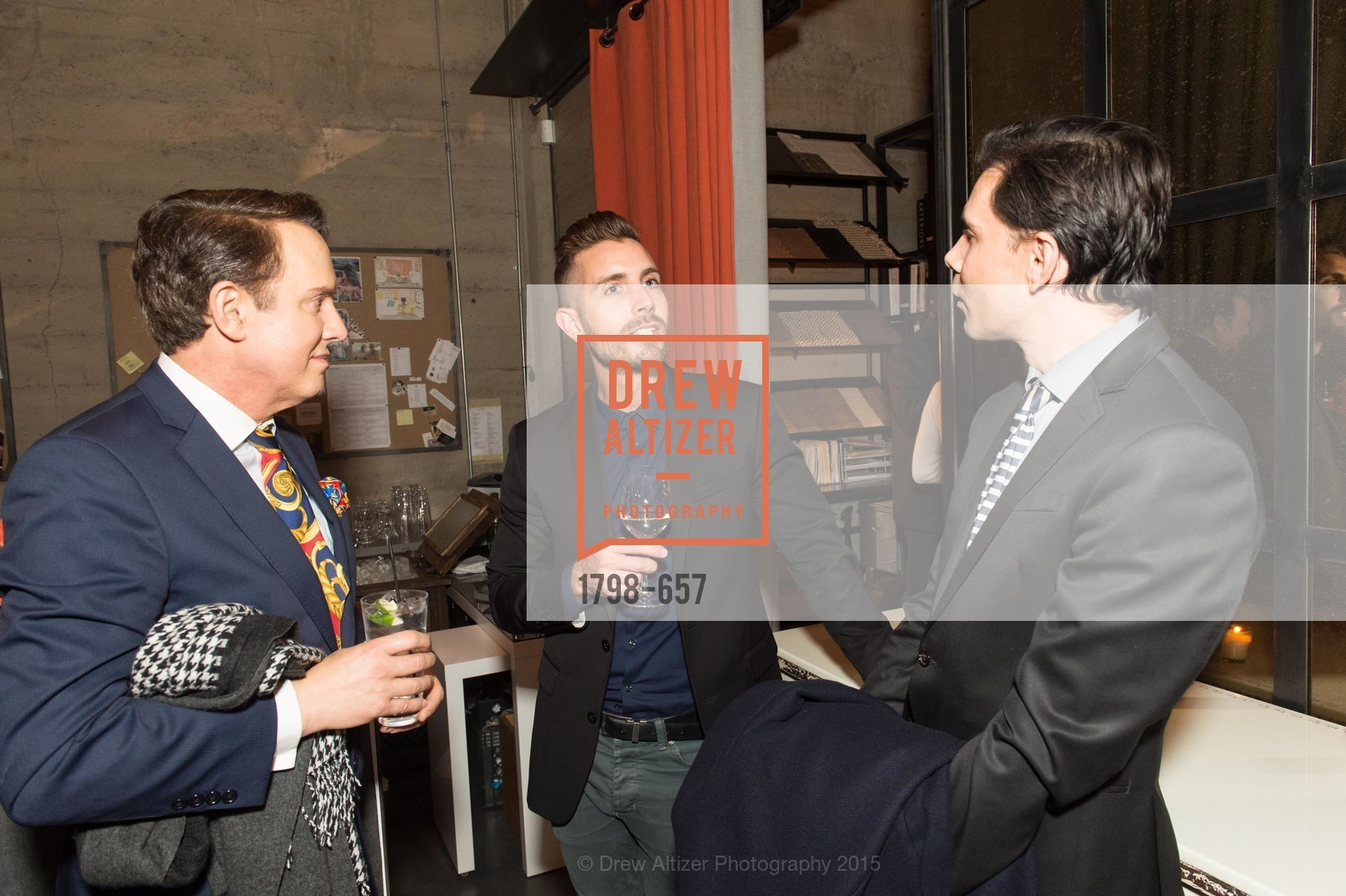 Joel Goodrich, Michael Gonsalves, Damion Matthews, DDG Holiday Party, Jay Jeffers. 1035 Post St, December 16th, 2015,Drew Altizer, Drew Altizer Photography, full-service agency, private events, San Francisco photographer, photographer california