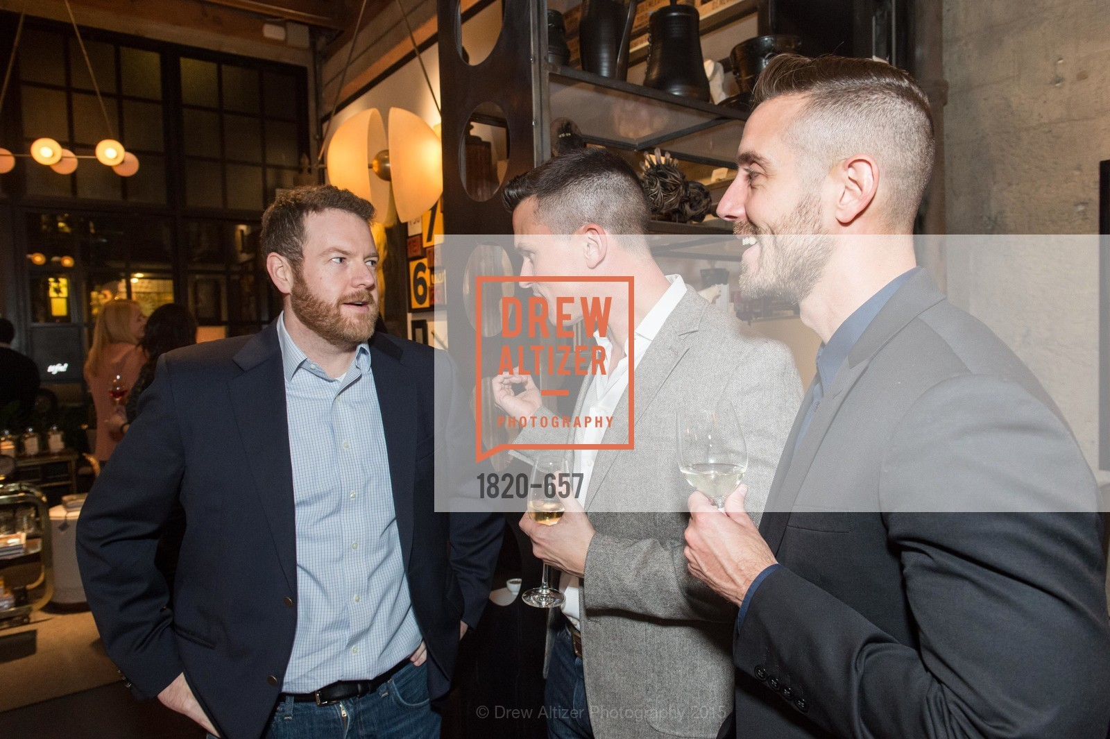 Tim Kitchen, Guillaume Coutheillas, Michael Gonsalves, DDG Holiday Party, Jay Jeffers. 1035 Post St, December 16th, 2015,Drew Altizer, Drew Altizer Photography, full-service agency, private events, San Francisco photographer, photographer california