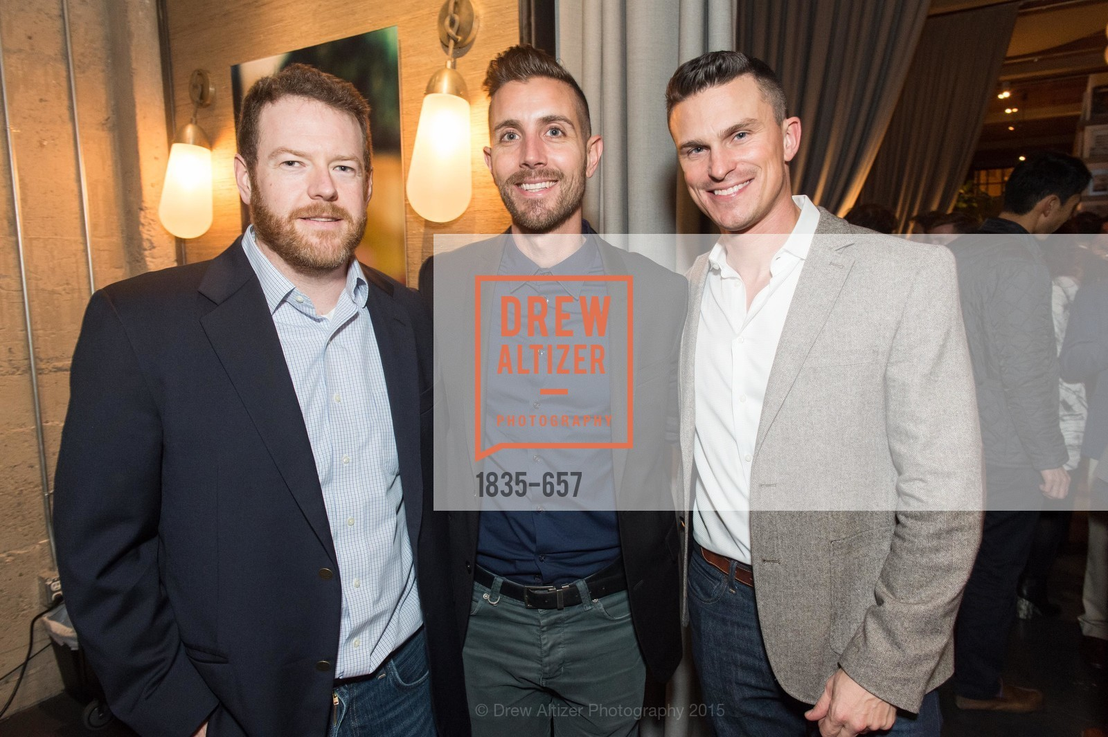 Tim Kitchen, Michael Gonsalves, Guillaume Coutheillas, DDG Holiday Party, Jay Jeffers. 1035 Post St, December 16th, 2015,Drew Altizer, Drew Altizer Photography, full-service agency, private events, San Francisco photographer, photographer california