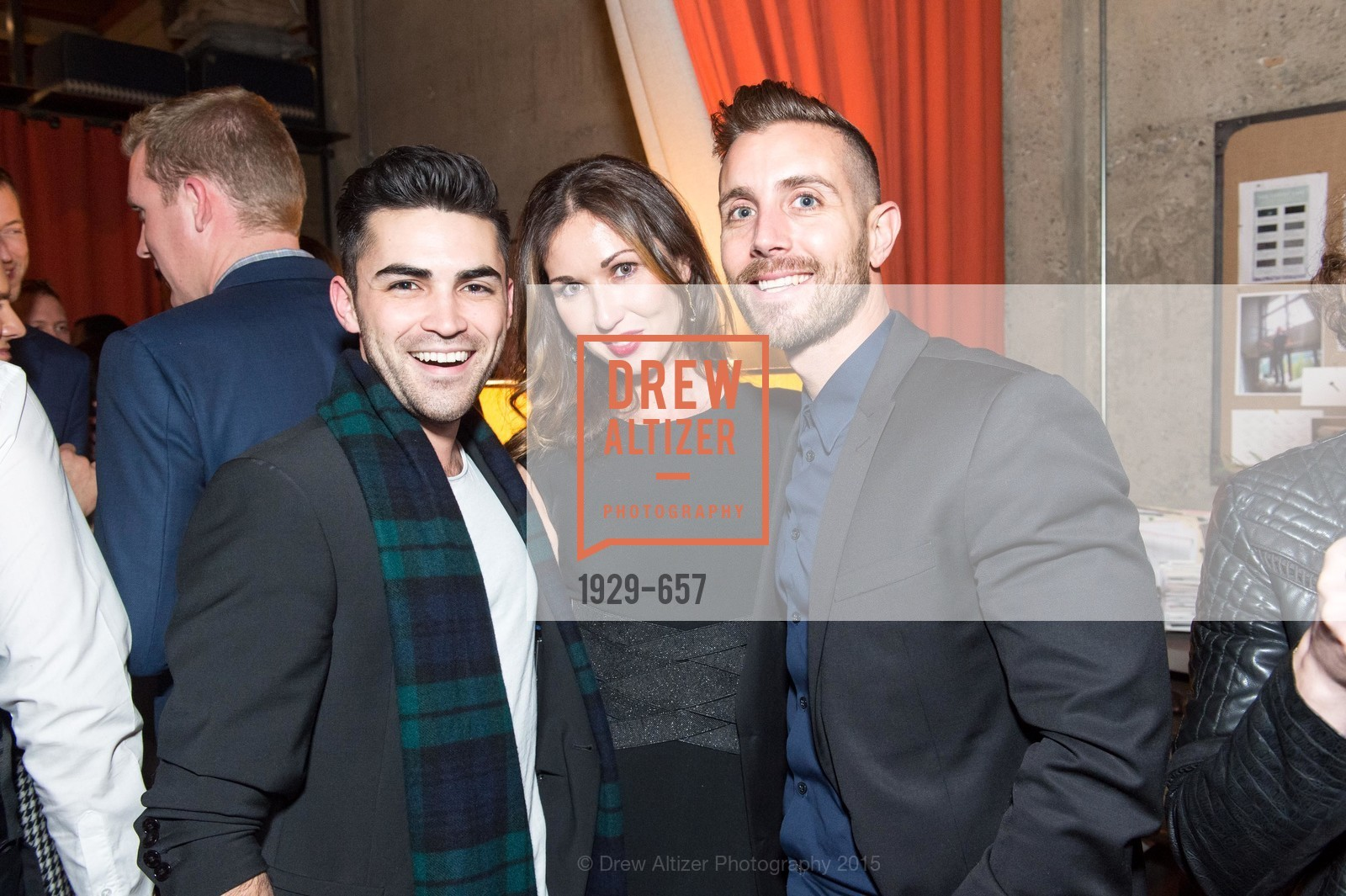 Cameron Paul, Camilla Papale, Michael Gonsalves, DDG Holiday Party, Jay Jeffers. 1035 Post St, December 16th, 2015,Drew Altizer, Drew Altizer Photography, full-service event agency, private events, San Francisco photographer, photographer California
