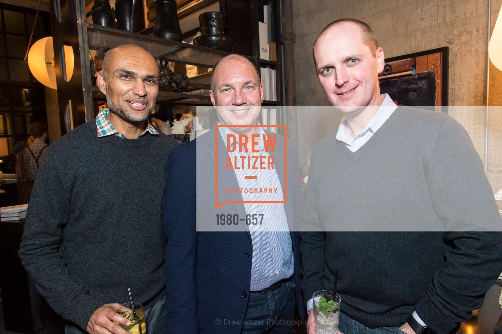 Asheshh Saheda, Chris Prokop, Robert Edmund, DDG Holiday Party, Jay Jeffers. 1035 Post St, December 16th, 2015,Drew Altizer, Drew Altizer Photography, full-service agency, private events, San Francisco photographer, photographer california