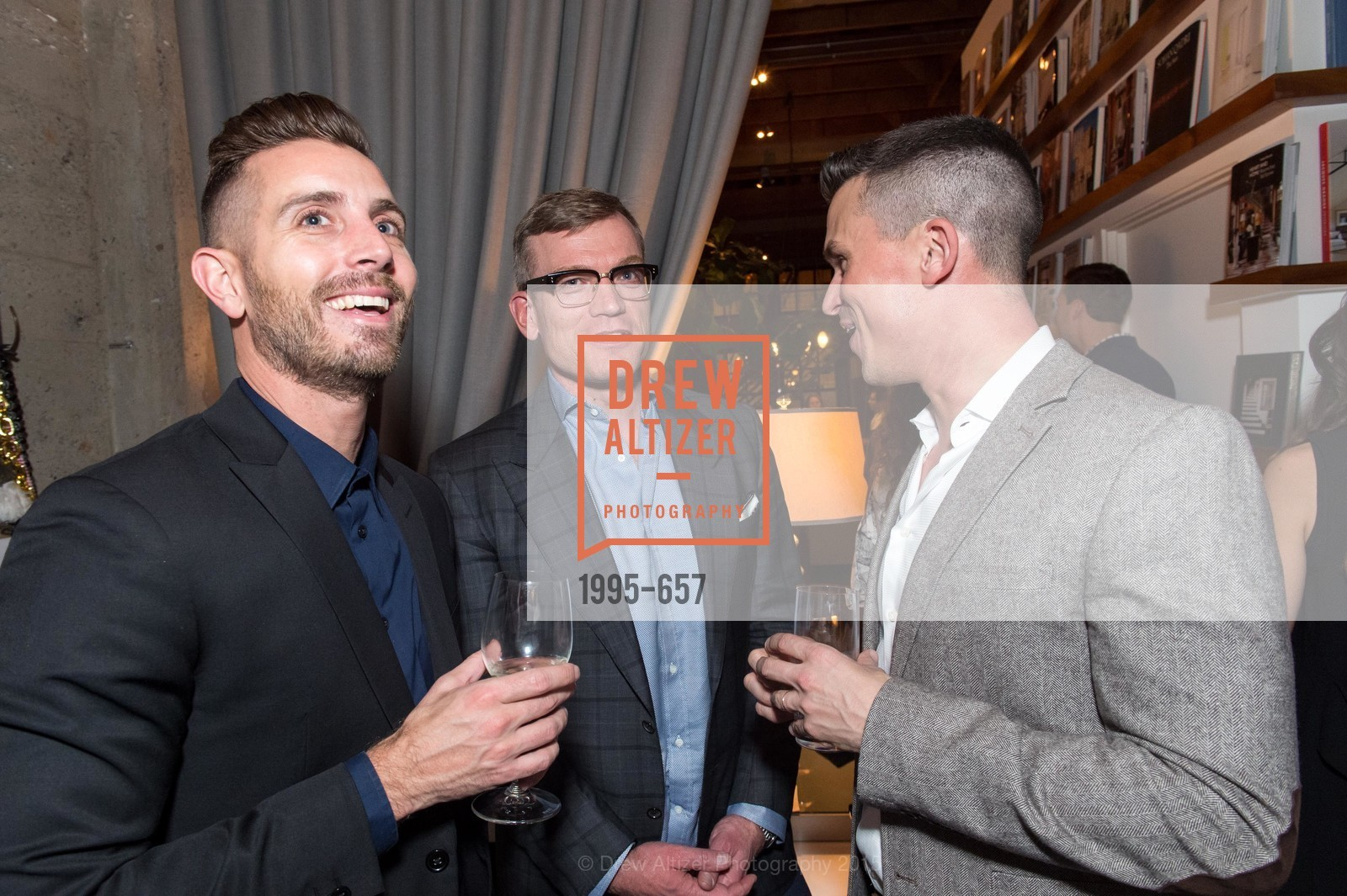 Michael Gonsalves, Joe McMilla, Guillaume Coutheillas, DDG Holiday Party, Jay Jeffers. 1035 Post St, December 16th, 2015,Drew Altizer, Drew Altizer Photography, full-service agency, private events, San Francisco photographer, photographer california