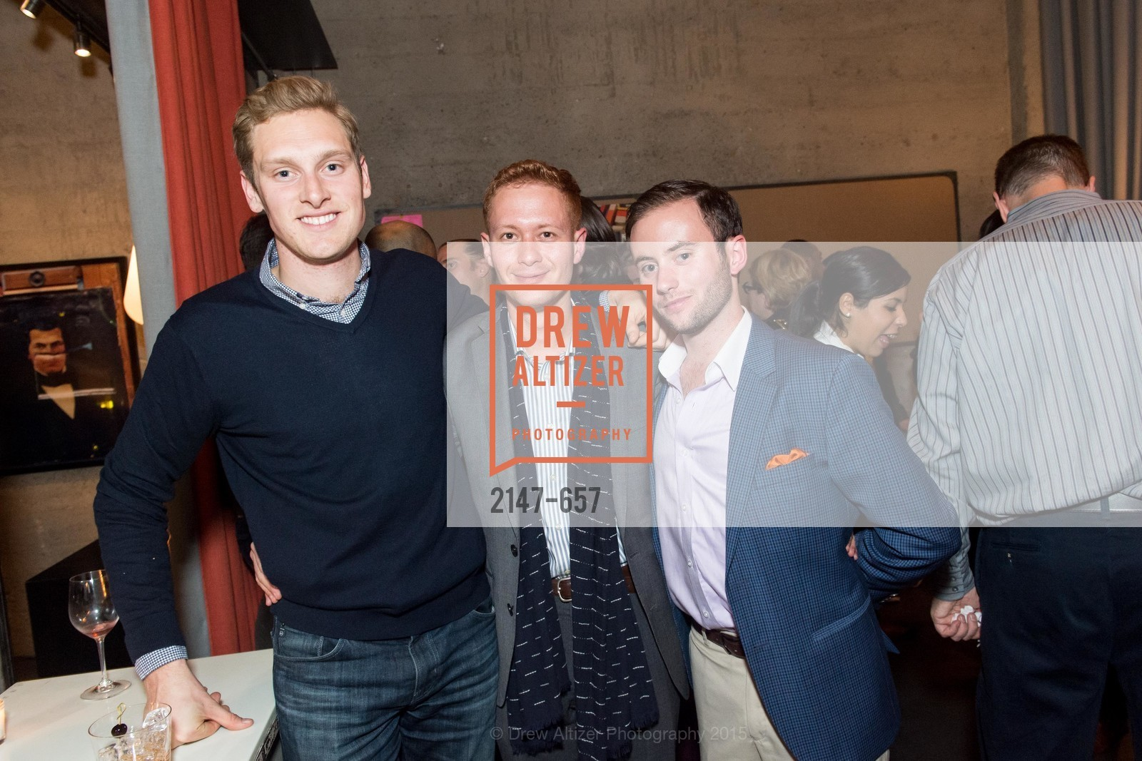 Ian Clark, Caleb Sheldon, Rich Lewetzow, DDG Holiday Party, Jay Jeffers. 1035 Post St, December 16th, 2015,Drew Altizer, Drew Altizer Photography, full-service agency, private events, San Francisco photographer, photographer california