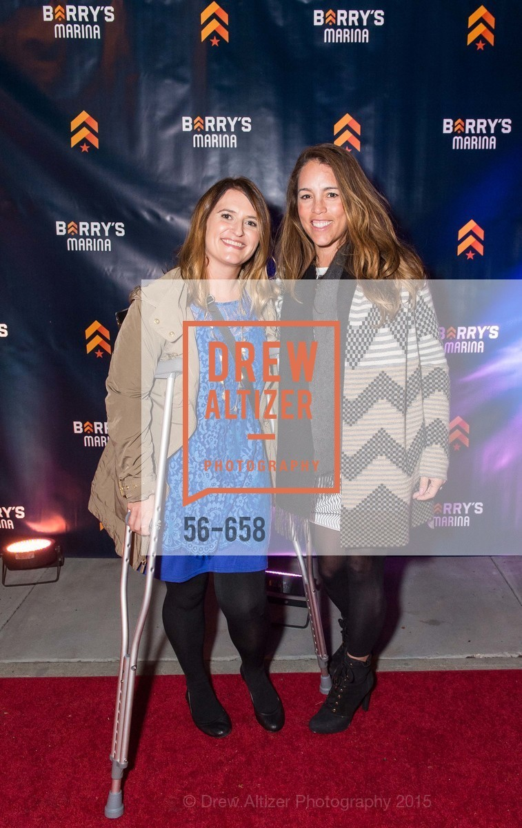 Becky Brewer, Christy Leach, Barry's Marina Opening, Barry's. 2246 Lombard Street, December 17th, 2015,Drew Altizer, Drew Altizer Photography, full-service agency, private events, San Francisco photographer, photographer california