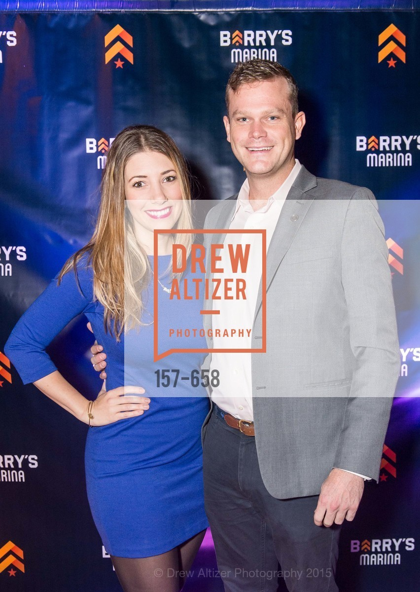 Brianna Haag, Doug Parvis, Barry's Marina Opening, Barry's. 2246 Lombard Street, December 17th, 2015,Drew Altizer, Drew Altizer Photography, full-service agency, private events, San Francisco photographer, photographer california