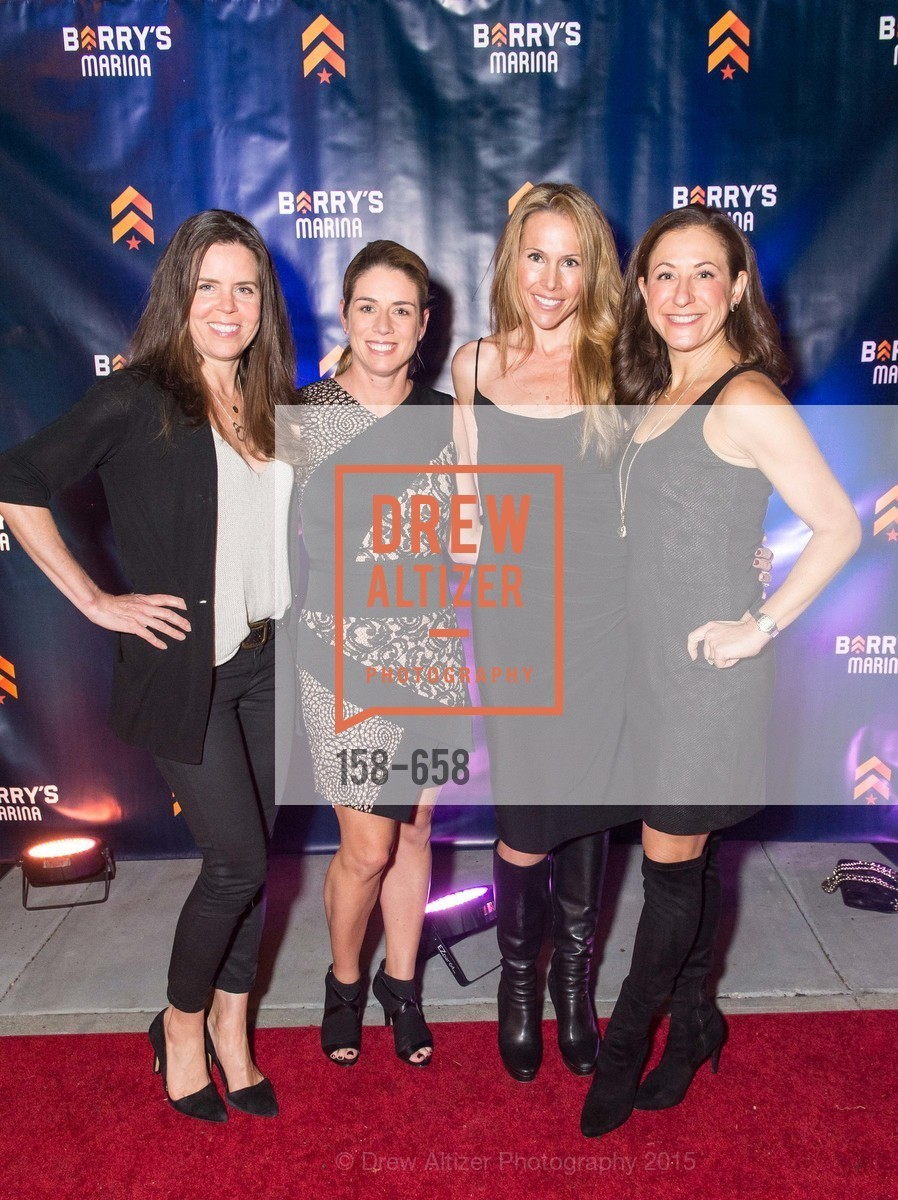 Beth Gray, Liz Farrell, Alex Lyon, Victoria Dade, Barry's Marina Opening, Barry's. 2246 Lombard Street, December 17th, 2015,Drew Altizer, Drew Altizer Photography, full-service event agency, private events, San Francisco photographer, photographer California