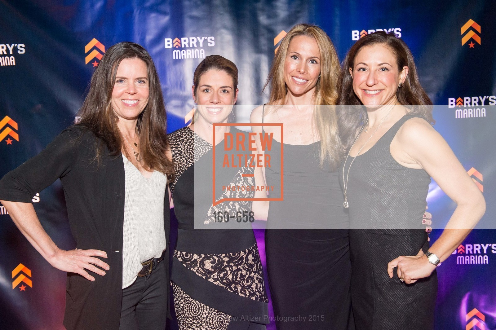 Beth Gray, Liz Farrell, Alex Lyon, Victoria Dade, Barry's Marina Opening, Barry's. 2246 Lombard Street, December 17th, 2015,Drew Altizer, Drew Altizer Photography, full-service agency, private events, San Francisco photographer, photographer california