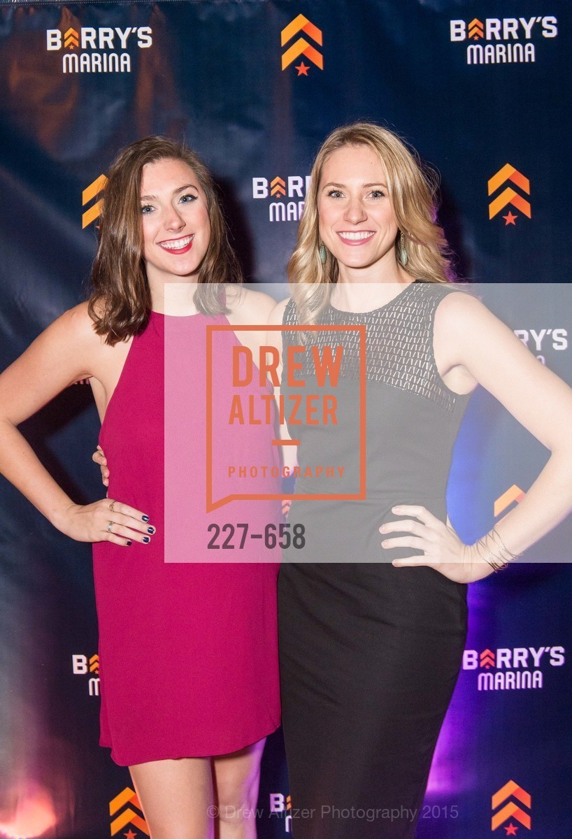 Devon Farrell, Shannon Farrell, Barry's Marina Opening, Barry's. 2246 Lombard Street, December 17th, 2015,Drew Altizer, Drew Altizer Photography, full-service agency, private events, San Francisco photographer, photographer california