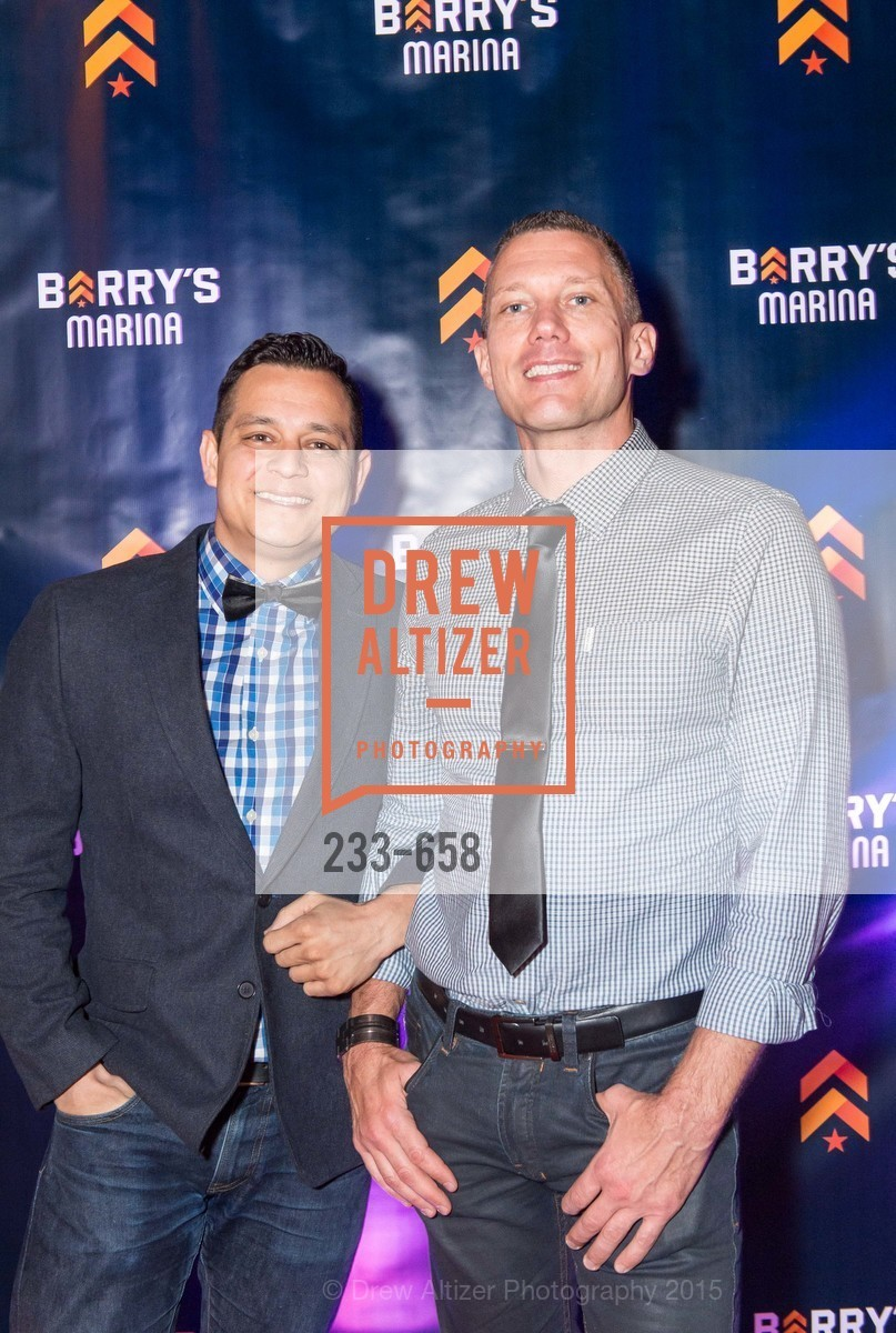 Josh Garcia, Jason Palmer, Barry's Marina Opening, Barry's. 2246 Lombard Street, December 17th, 2015,Drew Altizer, Drew Altizer Photography, full-service agency, private events, San Francisco photographer, photographer california