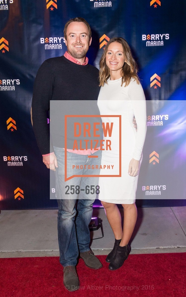 Jeff Harold, Ashley Harold, Barry's Marina Opening, Barry's. 2246 Lombard Street, December 17th, 2015,Drew Altizer, Drew Altizer Photography, full-service agency, private events, San Francisco photographer, photographer california