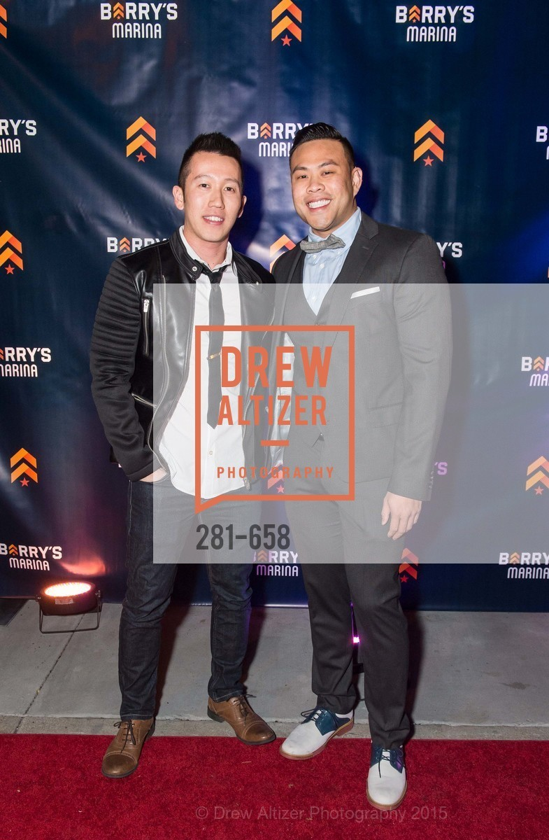 Ritchie Phan, Danny Hong, Barry's Marina Opening, Barry's. 2246 Lombard Street, December 17th, 2015,Drew Altizer, Drew Altizer Photography, full-service agency, private events, San Francisco photographer, photographer california