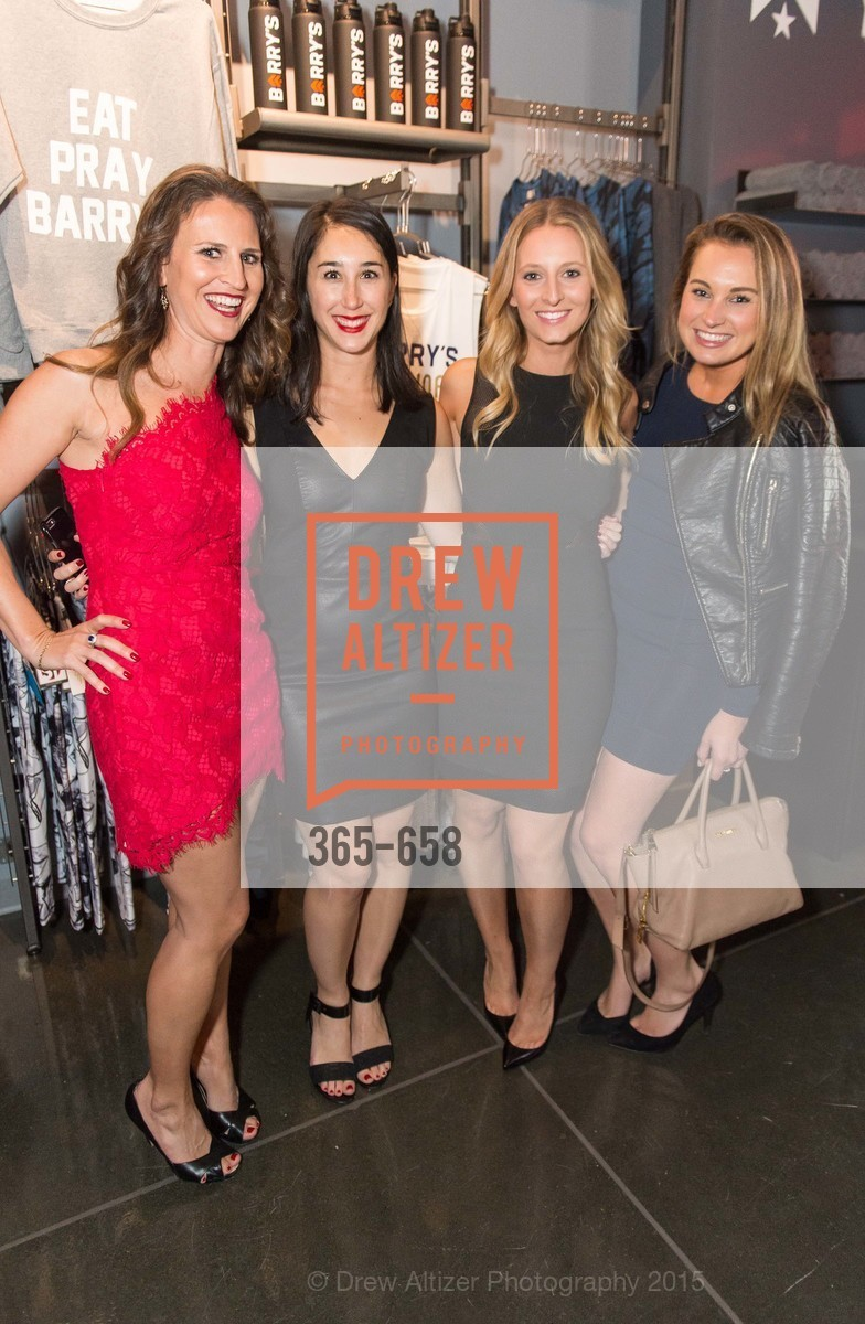 Jenn Wade, Dina Rosenberg, Nicole Kraft, Nicole Engelhart, Barry's Marina Opening, Barry's. 2246 Lombard Street, December 17th, 2015,Drew Altizer, Drew Altizer Photography, full-service agency, private events, San Francisco photographer, photographer california