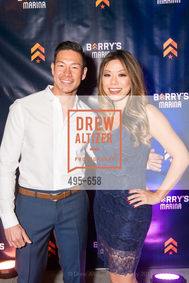 Brian O-Blanquet, Felicia Chen, Barry's Marina Opening, Barry's. 2246 Lombard Street, December 17th, 2015,Drew Altizer, Drew Altizer Photography, full-service agency, private events, San Francisco photographer, photographer california