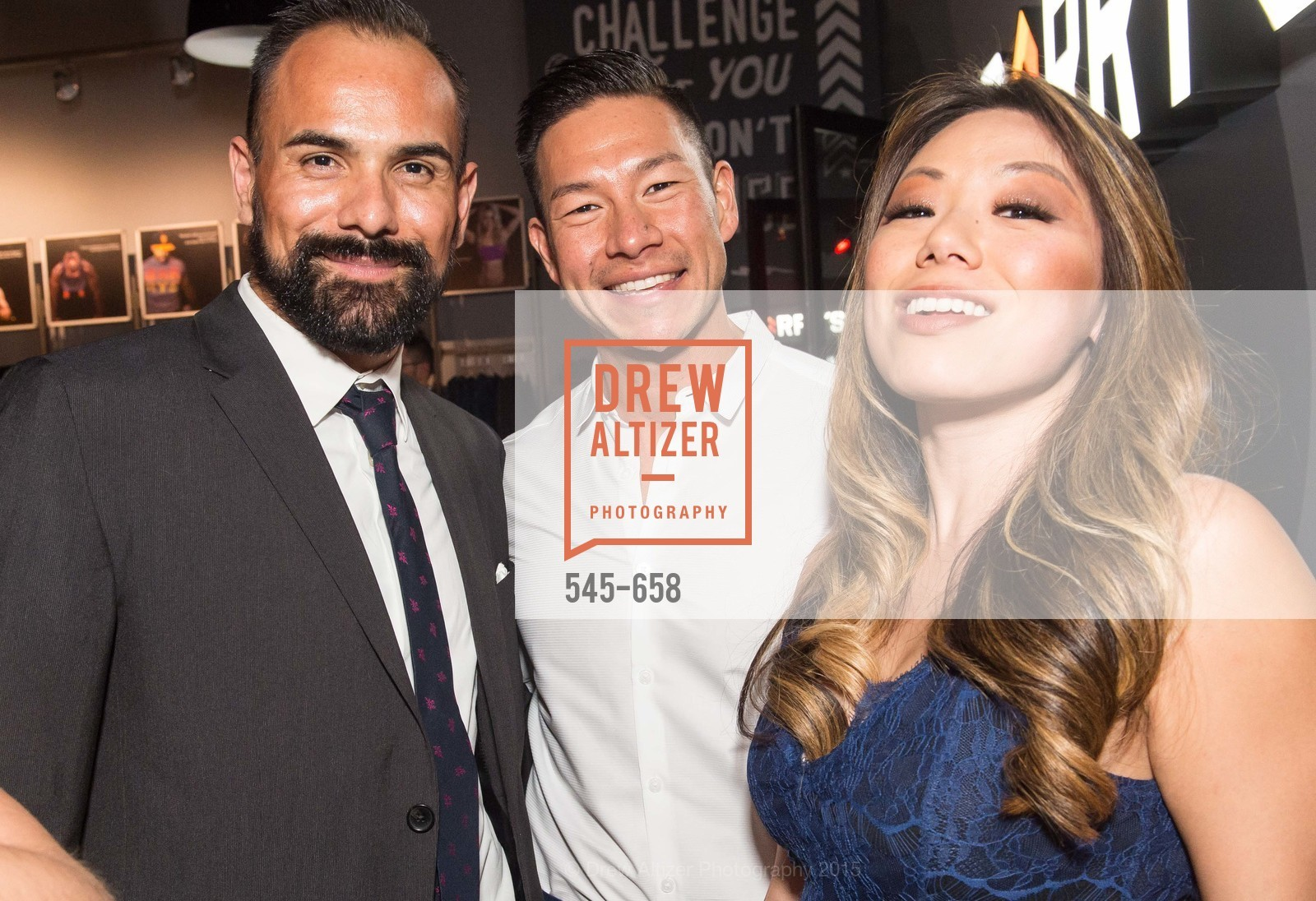 Noah Lopez, Brian O-Blanquet, Felicia Chen, Barry's Marina Opening, Barry's. 2246 Lombard Street, December 17th, 2015,Drew Altizer, Drew Altizer Photography, full-service agency, private events, San Francisco photographer, photographer california
