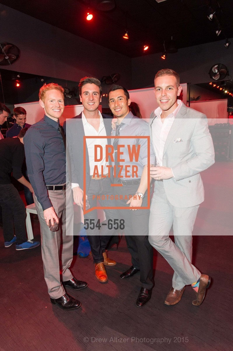 Ben Delk, Mike Young, Jeff Langewisch, Rob Warner, Barry's Marina Opening, Barry's. 2246 Lombard Street, December 17th, 2015,Drew Altizer, Drew Altizer Photography, full-service agency, private events, San Francisco photographer, photographer california