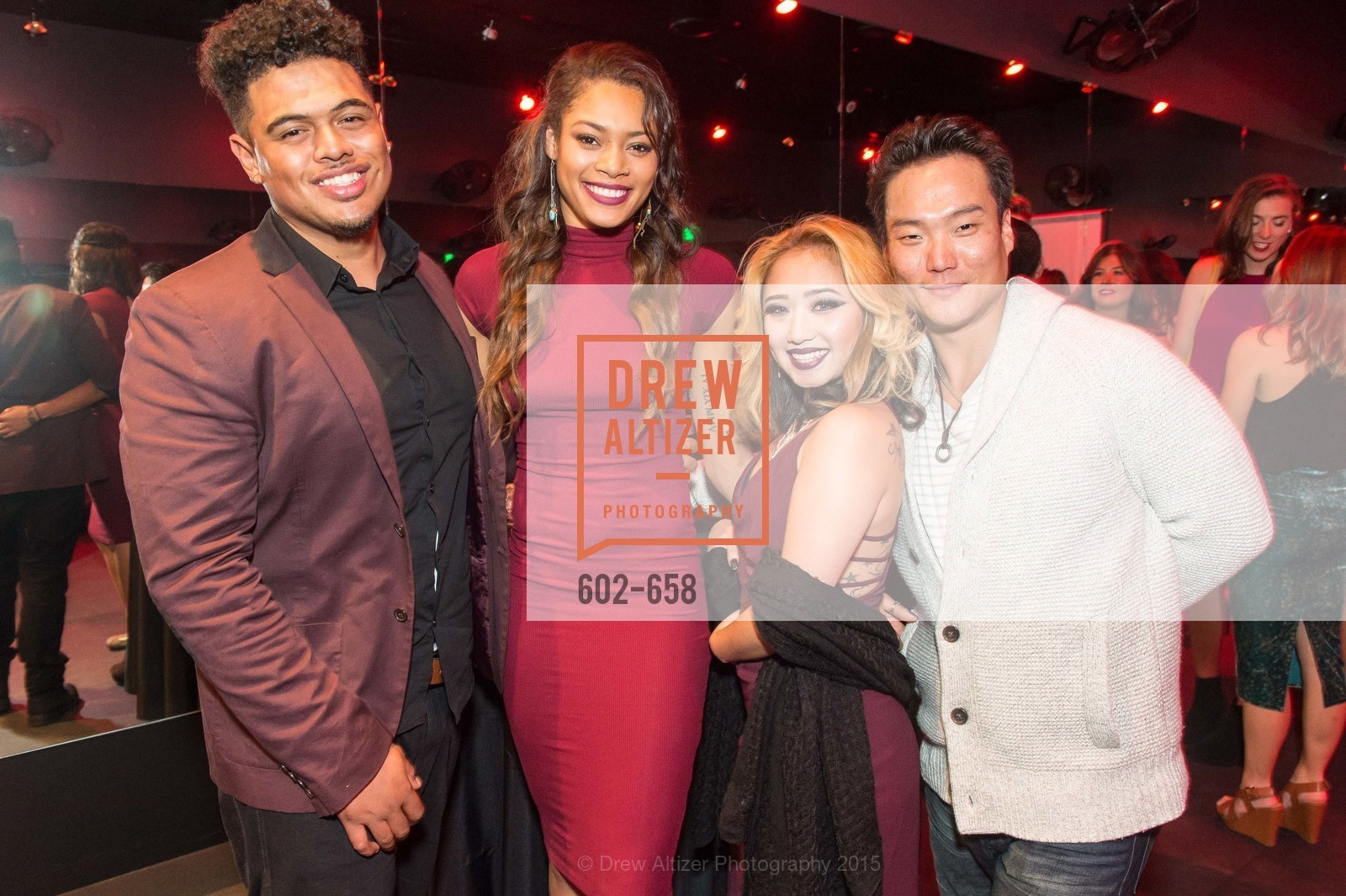 Roy Heare, Tashay Wallace, Bonnie Willeet, Anthony Vogg, Barry's Marina Opening, Barry's. 2246 Lombard Street, December 17th, 2015,Drew Altizer, Drew Altizer Photography, full-service agency, private events, San Francisco photographer, photographer california