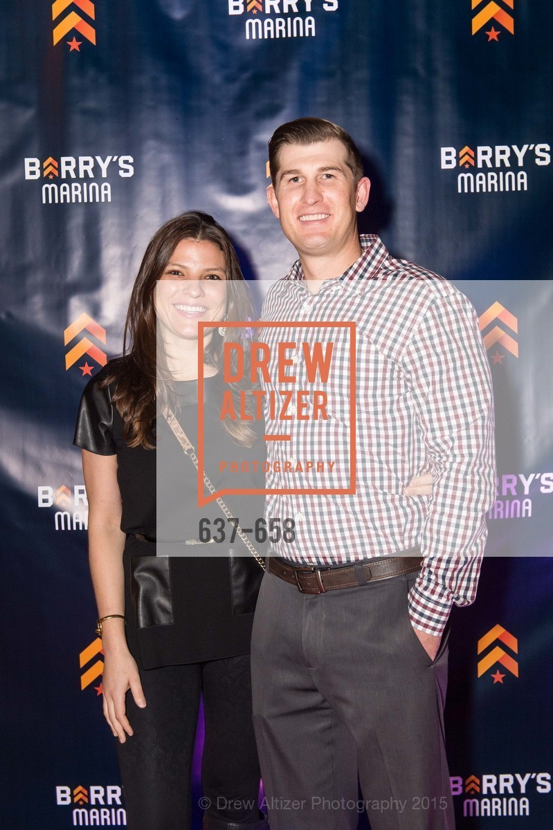 Brook Aguilar, Chris Geshwin, Barry's Marina Opening, Barry's. 2246 Lombard Street, December 17th, 2015,Drew Altizer, Drew Altizer Photography, full-service agency, private events, San Francisco photographer, photographer california
