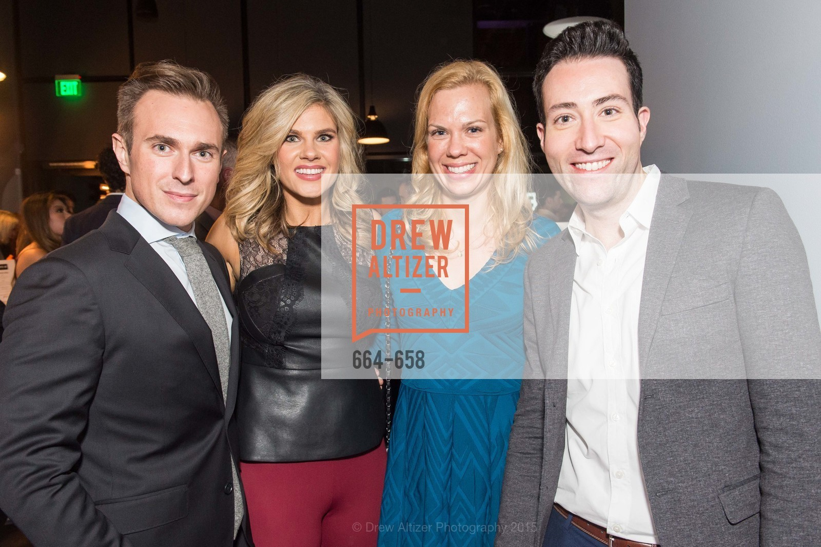Sean Sullivan, Ali Nowell, Rachelle Soderstrom, Michael Devitt, Barry's Marina Opening, Barry's. 2246 Lombard Street, December 17th, 2015,Drew Altizer, Drew Altizer Photography, full-service agency, private events, San Francisco photographer, photographer california