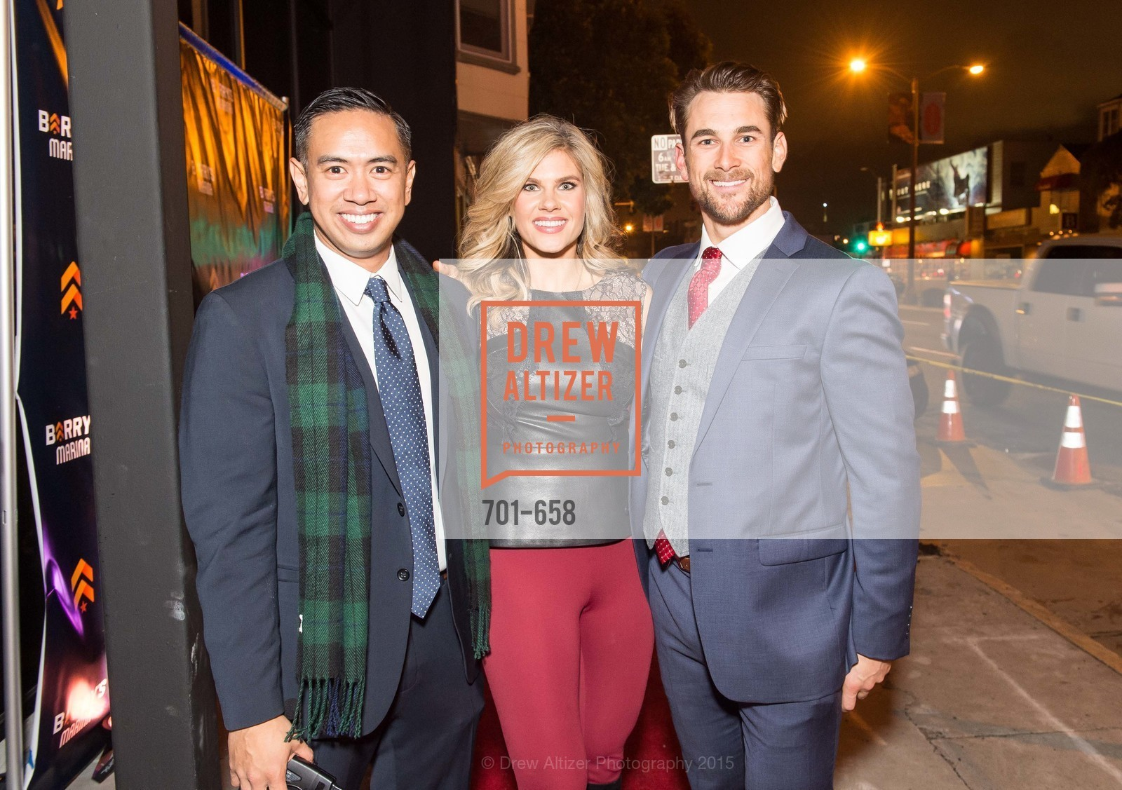 Justin Roja, Ali Nowell, Thomas Stracke, Barry's Marina Opening, Barry's. 2246 Lombard Street, December 17th, 2015,Drew Altizer, Drew Altizer Photography, full-service event agency, private events, San Francisco photographer, photographer California