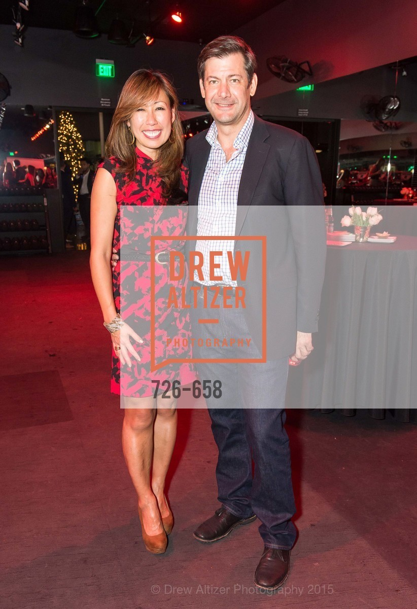 Joy Boatwright, Mark Thoma, Barry's Marina Opening, Barry's. 2246 Lombard Street, December 17th, 2015,Drew Altizer, Drew Altizer Photography, full-service agency, private events, San Francisco photographer, photographer california