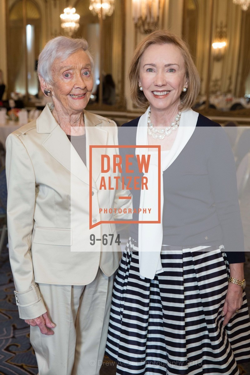 Peggy Montgomery, Trish Otstott, Junior League of San Francisco's WATCH Luncheon, Fairmont Hotel. 950 Mason Street, May 4th, 2015,Drew Altizer, Drew Altizer Photography, full-service agency, private events, San Francisco photographer, photographer california