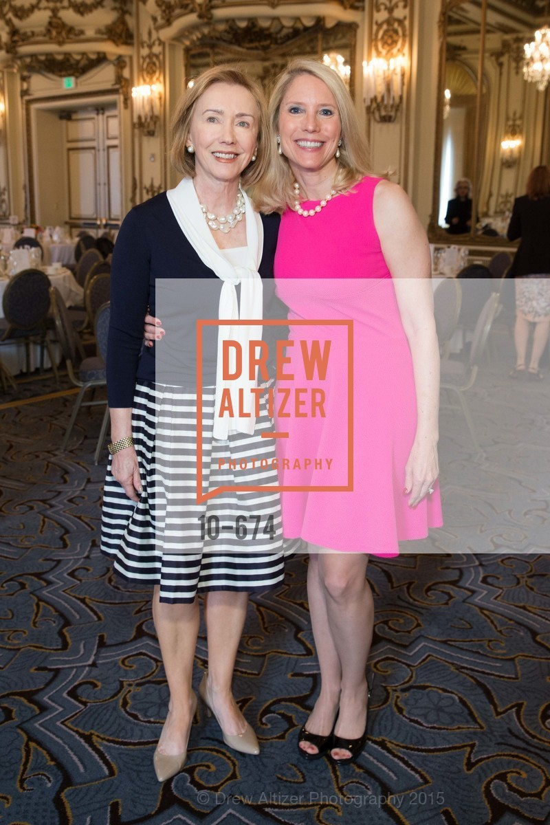 Trish Otstott, Laura Faucett Schafer, Junior League of San Francisco's WATCH Luncheon, Fairmont Hotel. 950 Mason Street, May 4th, 2015,Drew Altizer, Drew Altizer Photography, full-service agency, private events, San Francisco photographer, photographer california