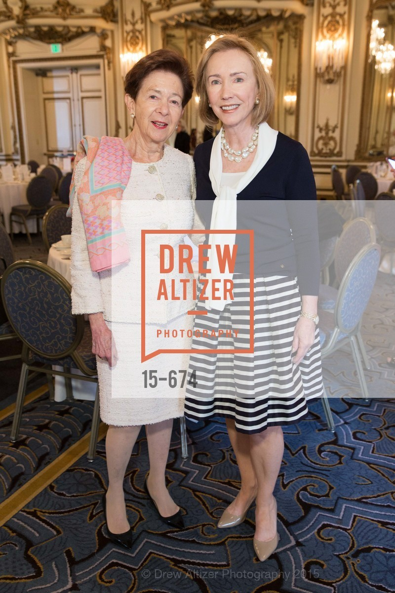 Roselyne Swig, Trish Otstott, Junior League of San Francisco's WATCH Luncheon, Fairmont Hotel. 950 Mason Street, May 4th, 2015,Drew Altizer, Drew Altizer Photography, full-service agency, private events, San Francisco photographer, photographer california
