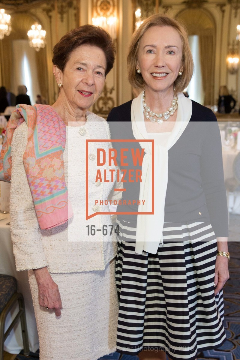 Roselyne Swig, Trish Otstott, Junior League of San Francisco's WATCH Luncheon, Fairmont Hotel. 950 Mason Street, May 4th, 2015,Drew Altizer, Drew Altizer Photography, full-service event agency, private events, San Francisco photographer, photographer California