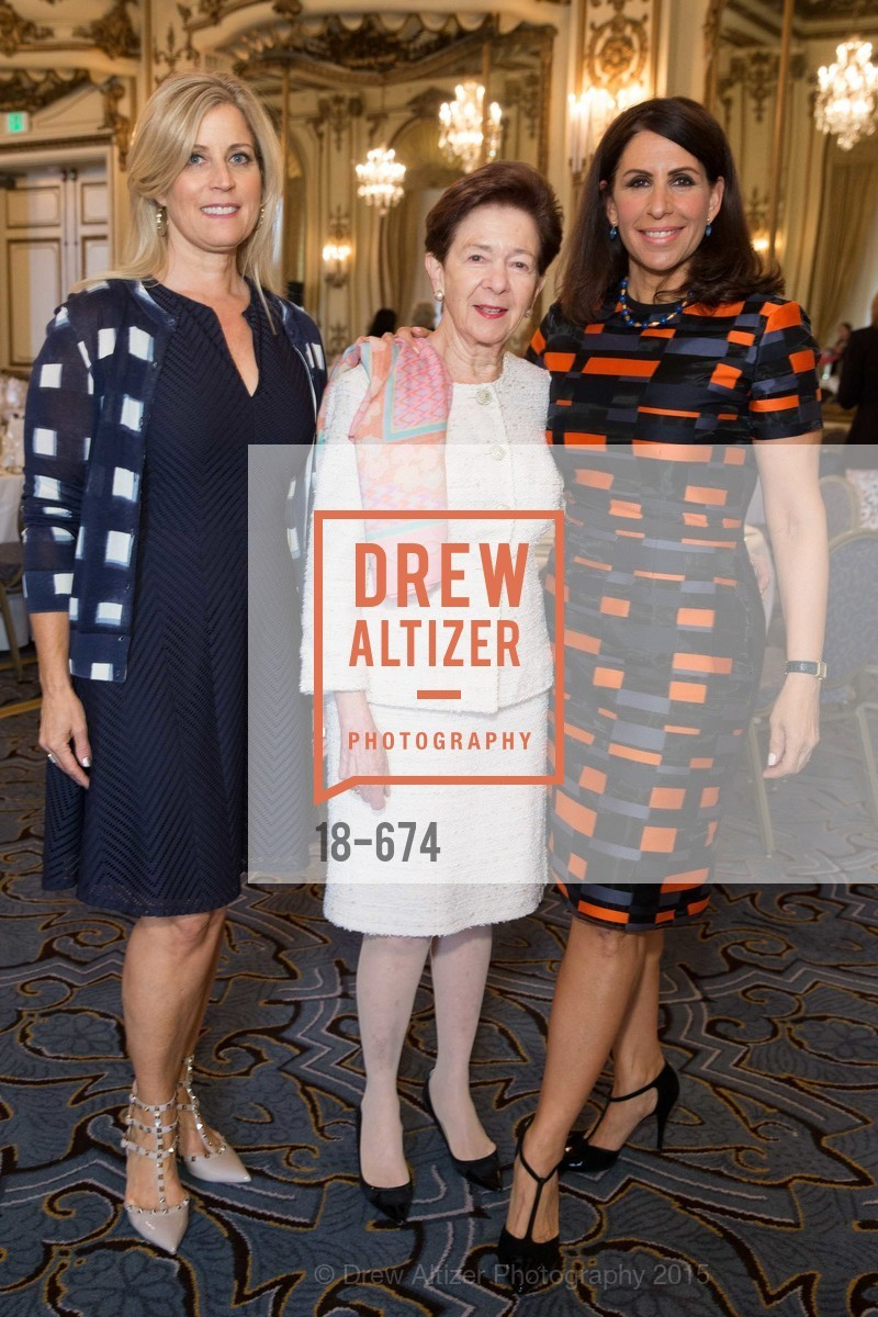 Jane Inch, Roselyne Swig, Lisa Grotts, Junior League of San Francisco's WATCH Luncheon, Fairmont Hotel. 950 Mason Street, May 4th, 2015,Drew Altizer, Drew Altizer Photography, full-service agency, private events, San Francisco photographer, photographer california
