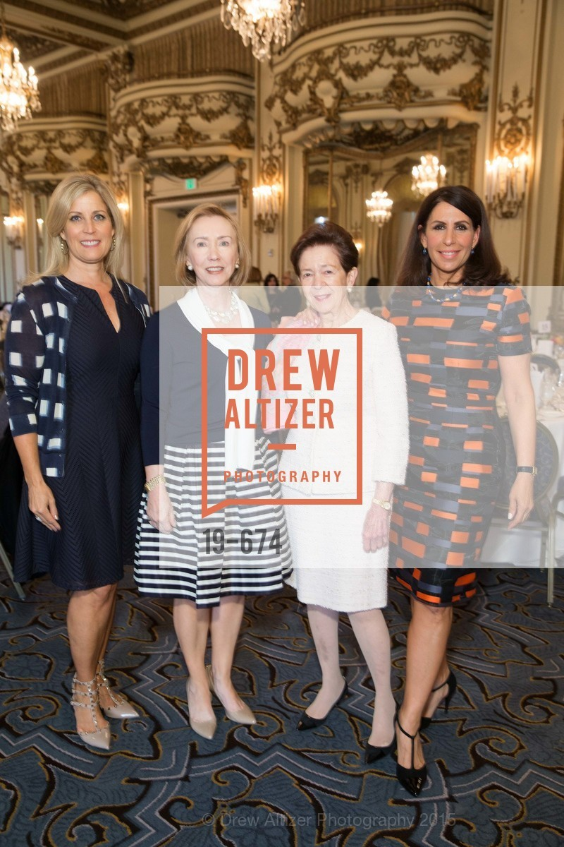 Jane Inch, Trish Otstott, Roselyne Swig, Lisa Grotts, Junior League of San Francisco's WATCH Luncheon, Fairmont Hotel. 950 Mason Street, May 4th, 2015,Drew Altizer, Drew Altizer Photography, full-service agency, private events, San Francisco photographer, photographer california
