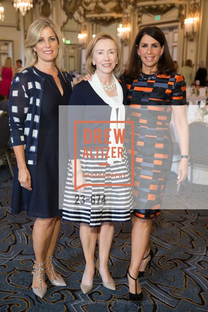 Jane Inch, Trish Otstott, Lisa Grotts, Junior League of San Francisco's WATCH Luncheon, Fairmont Hotel. 950 Mason Street, May 4th, 2015,Drew Altizer, Drew Altizer Photography, full-service agency, private events, San Francisco photographer, photographer california