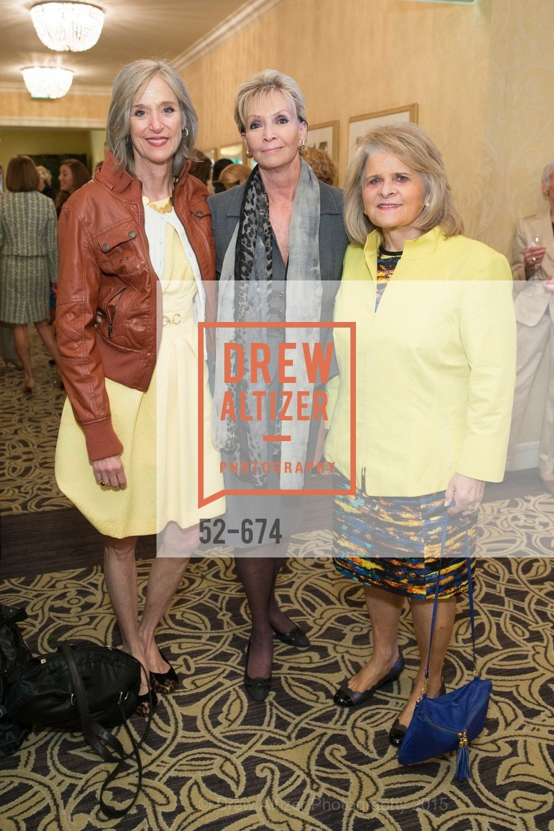 PJ Handeland, Sallie Huntting, Mary Jo Westwater, Junior League of San Francisco's WATCH Luncheon, Fairmont Hotel. 950 Mason Street, May 4th, 2015,Drew Altizer, Drew Altizer Photography, full-service event agency, private events, San Francisco photographer, photographer California