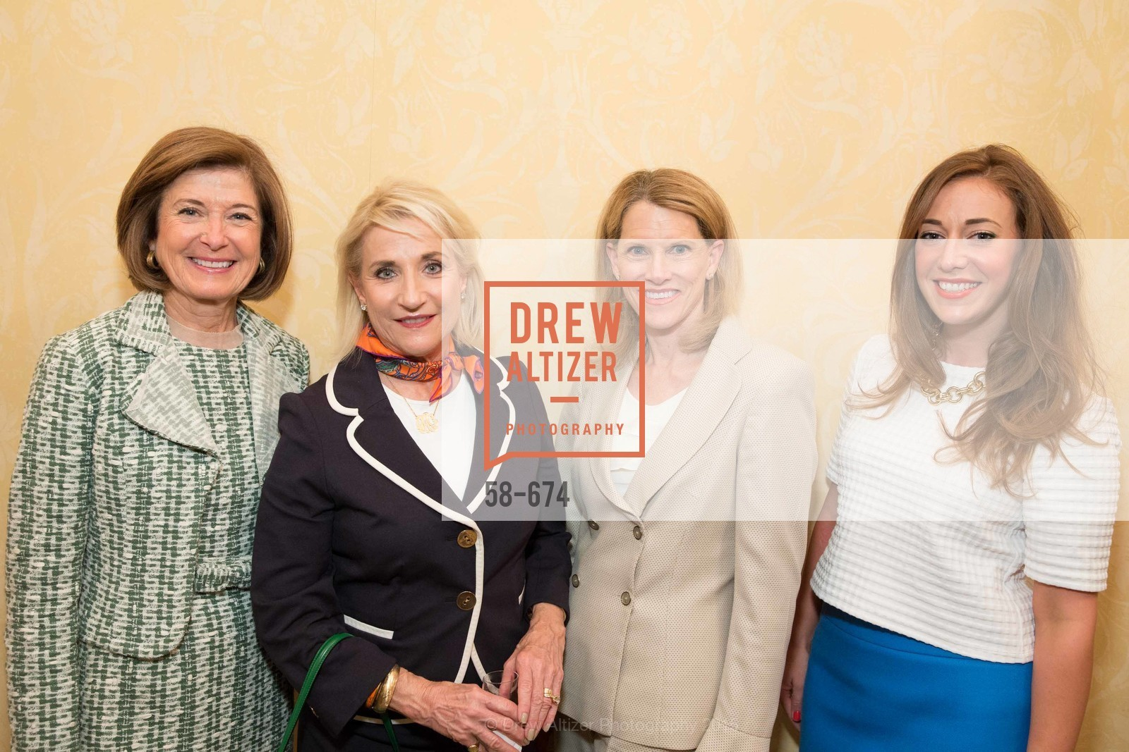 JoAn Smith, Deborah Avakian, Judy LeMarr, Schuyler Hudak, Junior League of San Francisco's WATCH Luncheon, Fairmont Hotel. 950 Mason Street, May 4th, 2015,Drew Altizer, Drew Altizer Photography, full-service agency, private events, San Francisco photographer, photographer california