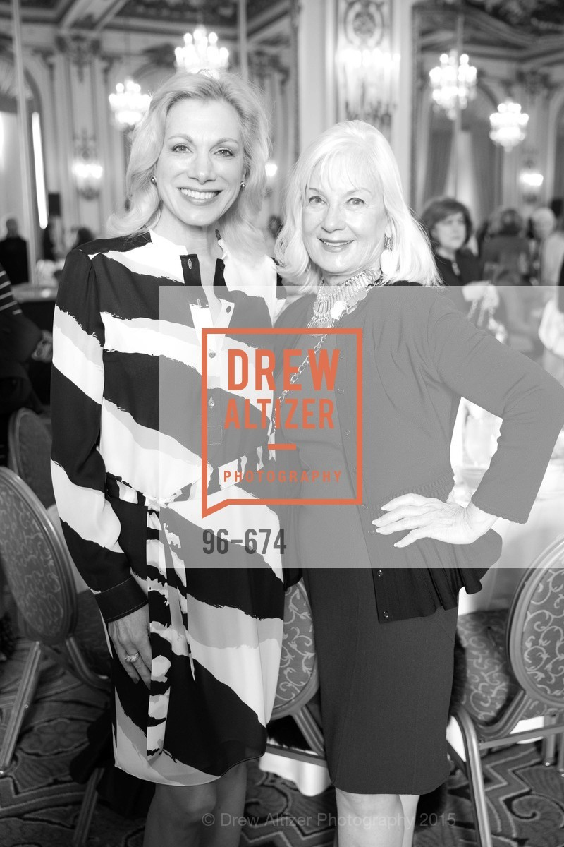 Cynthia Schreuder, Arlene Inch, Junior League of San Francisco's WATCH Luncheon, Fairmont Hotel. 950 Mason Street, May 4th, 2015,Drew Altizer, Drew Altizer Photography, full-service agency, private events, San Francisco photographer, photographer california