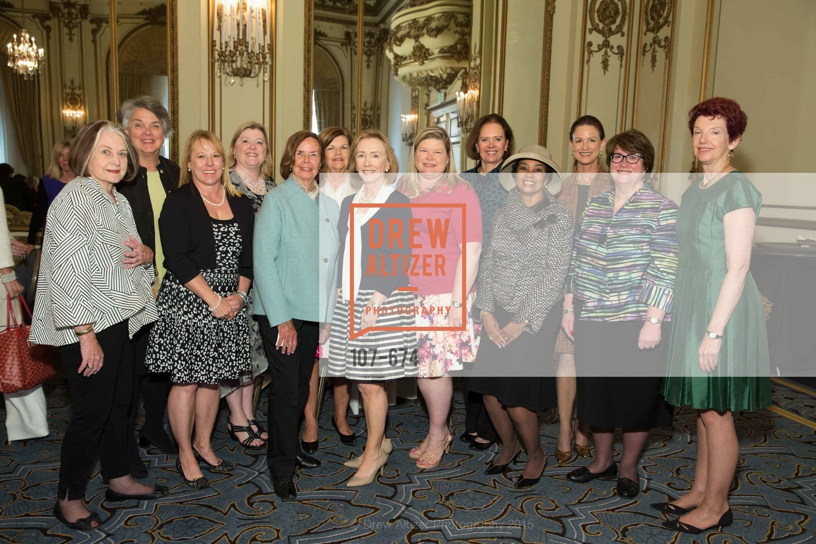Lisa Ryder, Trish Otstott, Jennifer Johnston, Kaki DeSautels, Anette Harris, Judy Jorgensen, Susan Hoganson, Junior League of San Francisco's WATCH Luncheon, Fairmont Hotel. 950 Mason Street, May 4th, 2015,Drew Altizer, Drew Altizer Photography, full-service agency, private events, San Francisco photographer, photographer california