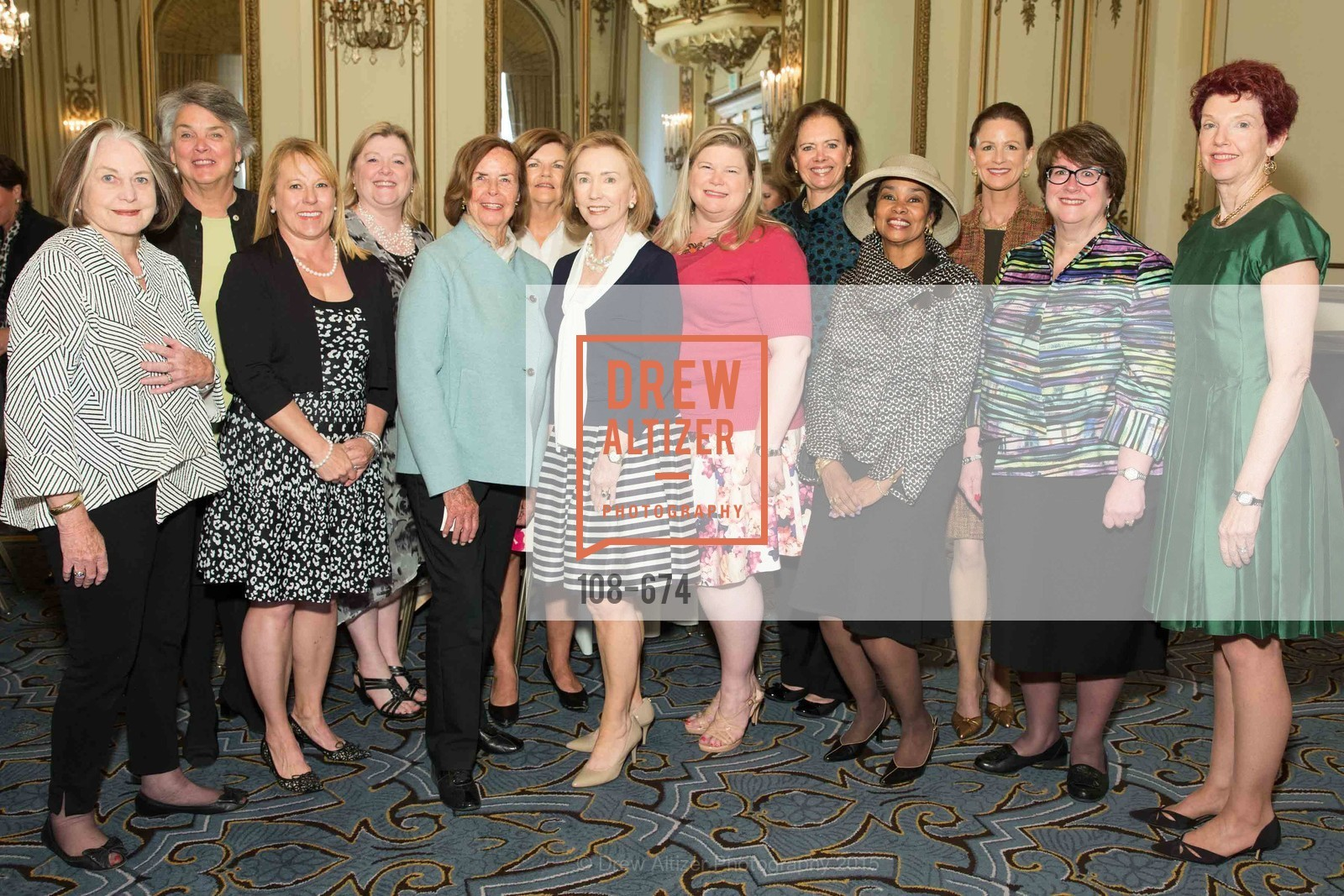 Lisa Ryder, Trish Otstott, Jennifer Johnston, Kaki DeSautels, Anette Harris, Judy Jorgensen, Susan Hoganson, Junior League of San Francisco's WATCH Luncheon, Fairmont Hotel. 950 Mason Street, May 4th, 2015,Drew Altizer, Drew Altizer Photography, full-service event agency, private events, San Francisco photographer, photographer California
