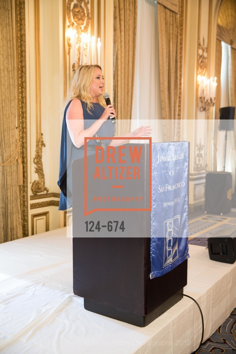 Jennifer Kurrie, Junior League of San Francisco's WATCH Luncheon, Fairmont Hotel. 950 Mason Street, May 4th, 2015,Drew Altizer, Drew Altizer Photography, full-service agency, private events, San Francisco photographer, photographer california